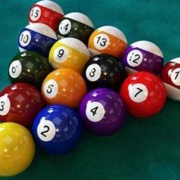 Billiard Balls and Triangles