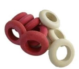 Large White Bumper Pool Rings, Large Bumper Pool Ring Set