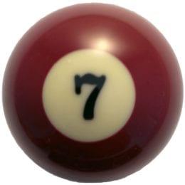 Replacement Billiard Ball, 2-1/4″ Classic Billiard Ball Replacement