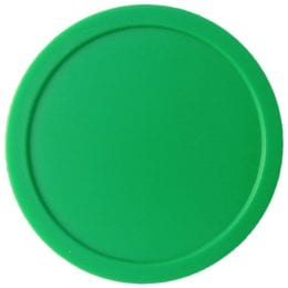 Large Round Green Air Hockey Puck