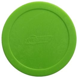 Large Dynamo Green Air Hockey Puck