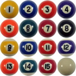 Mini Pool Ball Set