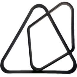 Black Plastic Billiard Rack