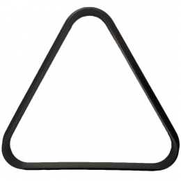 Black Plastic Triangle for Miniature Pool Table