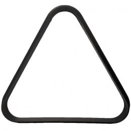 Black Plastic Triangle for Miniature Pool Table
