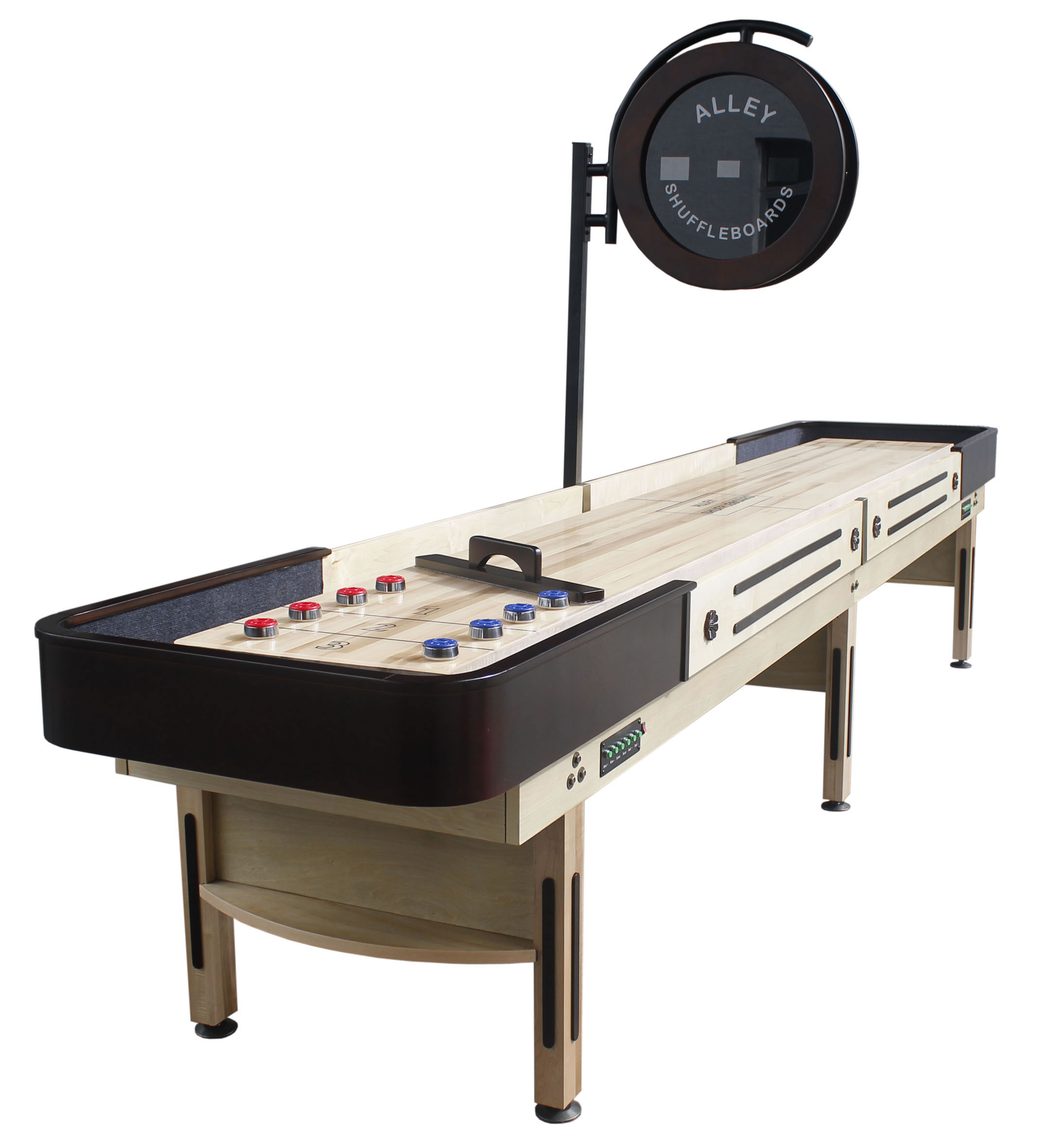 14' Alley Shuffleboard optional scoring unit