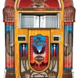 Rock-Ola Harley Davidson CD 6 Jukebox