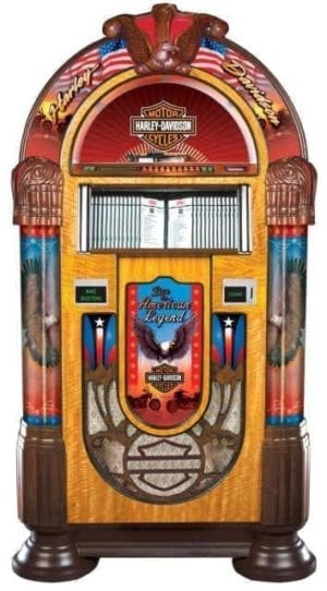 Rock-Ola Harley Davidson CD 6 Jukebox