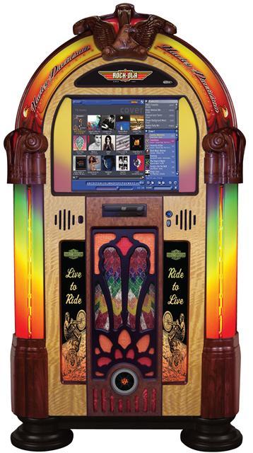 Rock Ola Harley Davidson Music Center Jukebox Games For Fun