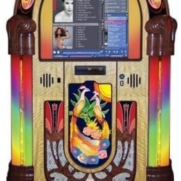 Rock-Ola Peacock Music Center Jukebox