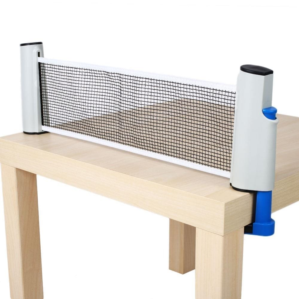 Universal Retractable Ping Pong Net Games For Fun