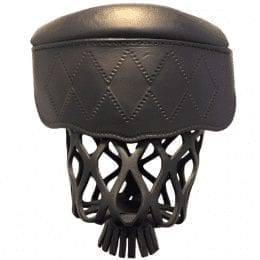 Black Diamond Leather Pool Table Pocket