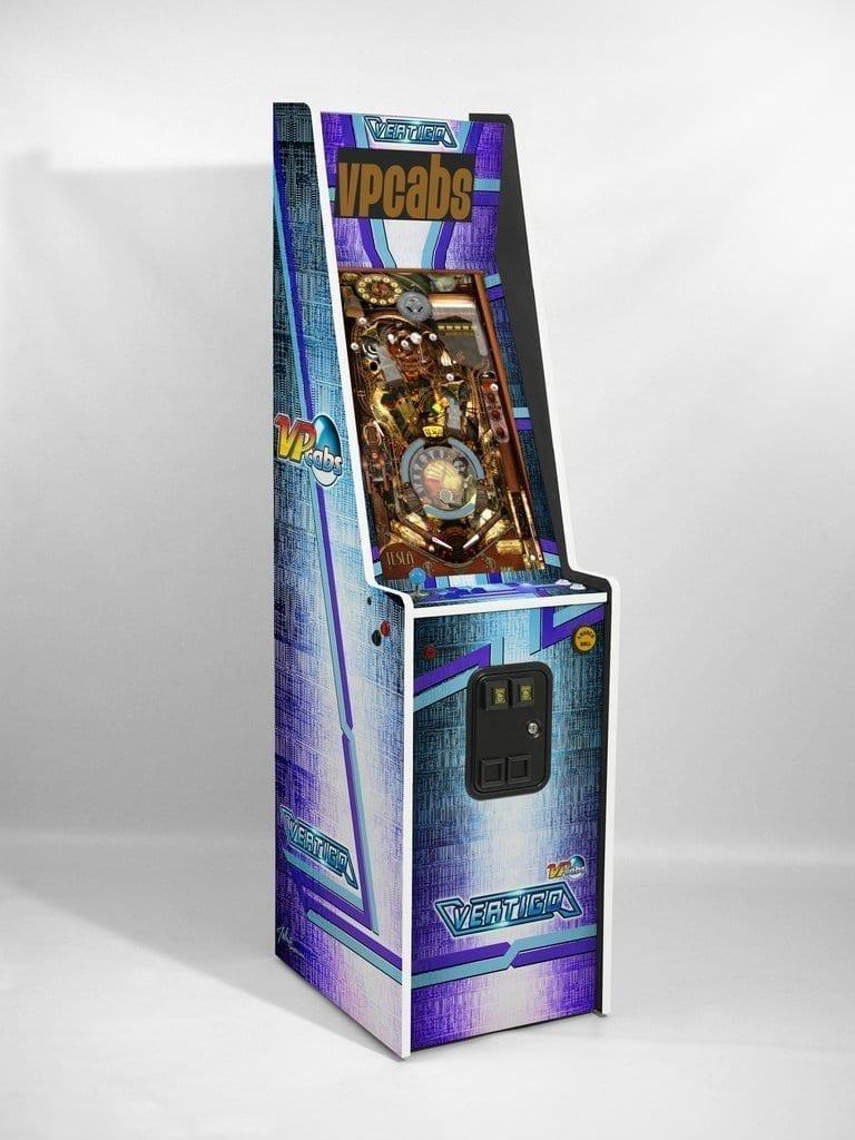 Vp Cabs The Vertigo Virtual Pinball And Arcade Game