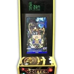 , VP Cabs The Vortex Virtual Pinball and Arcade Game