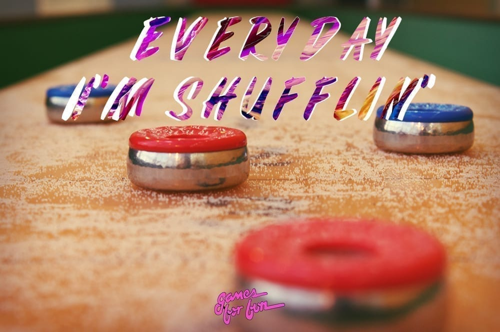 How to care for your shuffleboard
