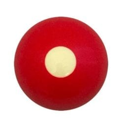 Replacement Bumper Pool Ball Red Cue Ball