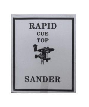 , Cue Top Sander