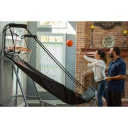 , Shot Pro Deluxe Electronic Basketball Game