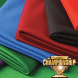Championship Teflon Billiard Cloth for 9 Foot Pool Table