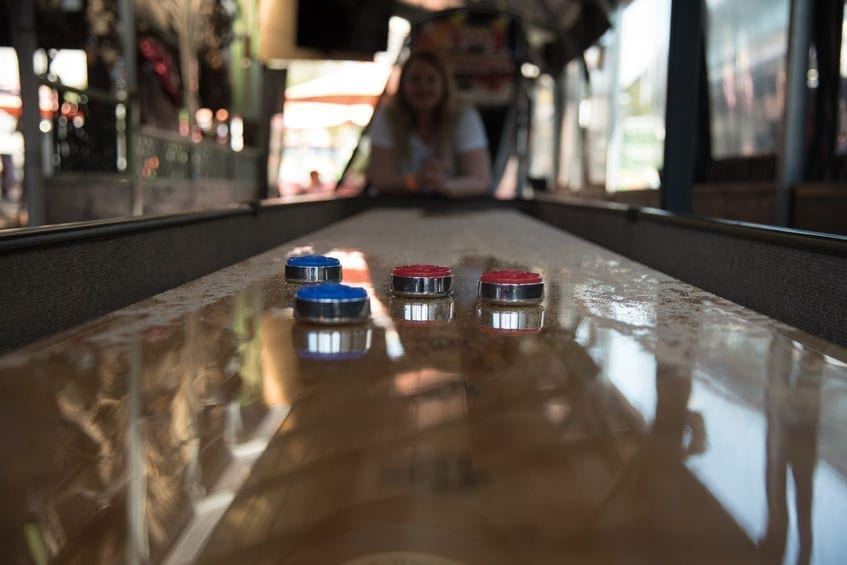 shuffleboard table, Finding The Right Length For Your Shuffleboard Table