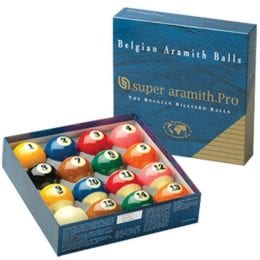Super Aramith Pro TV Ball Set