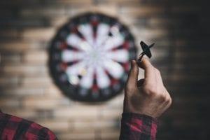 buying a dart board