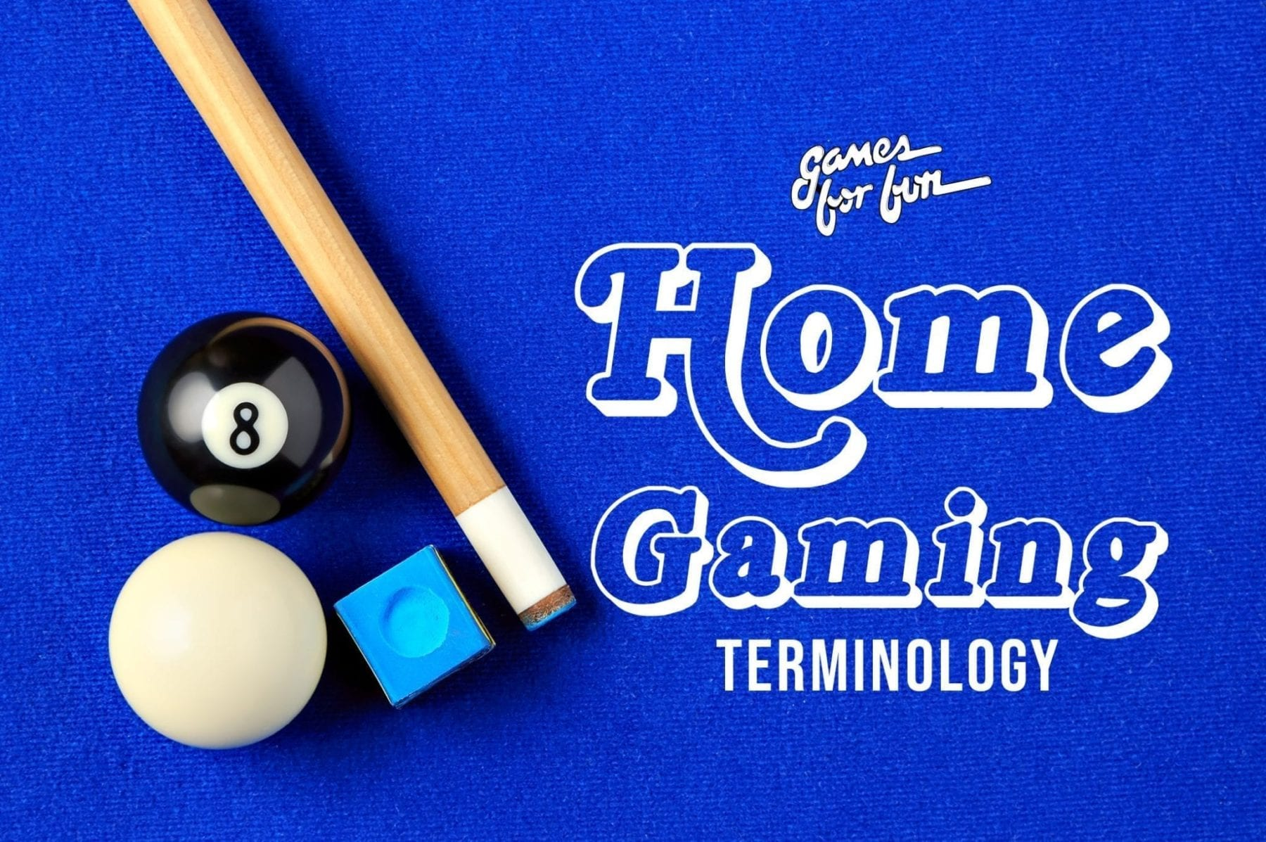 Home Game Product Terminology